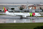 Delivery flight of new Airbus A321neo for TAP Portugal title=