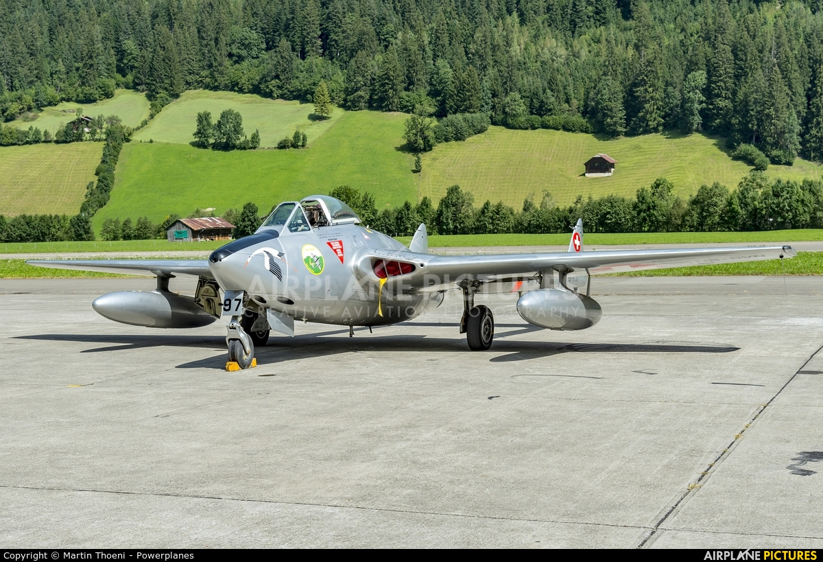 Private HB-RVN aircraft at St. Stephan