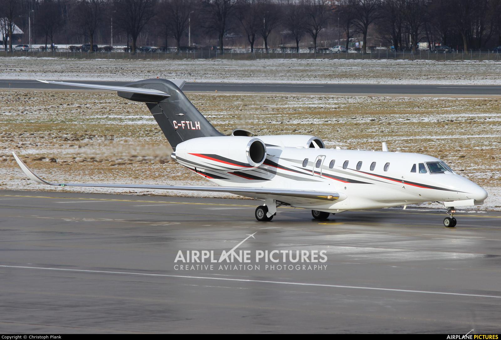 Air Partners C-FTLH aircraft at Innsbruck