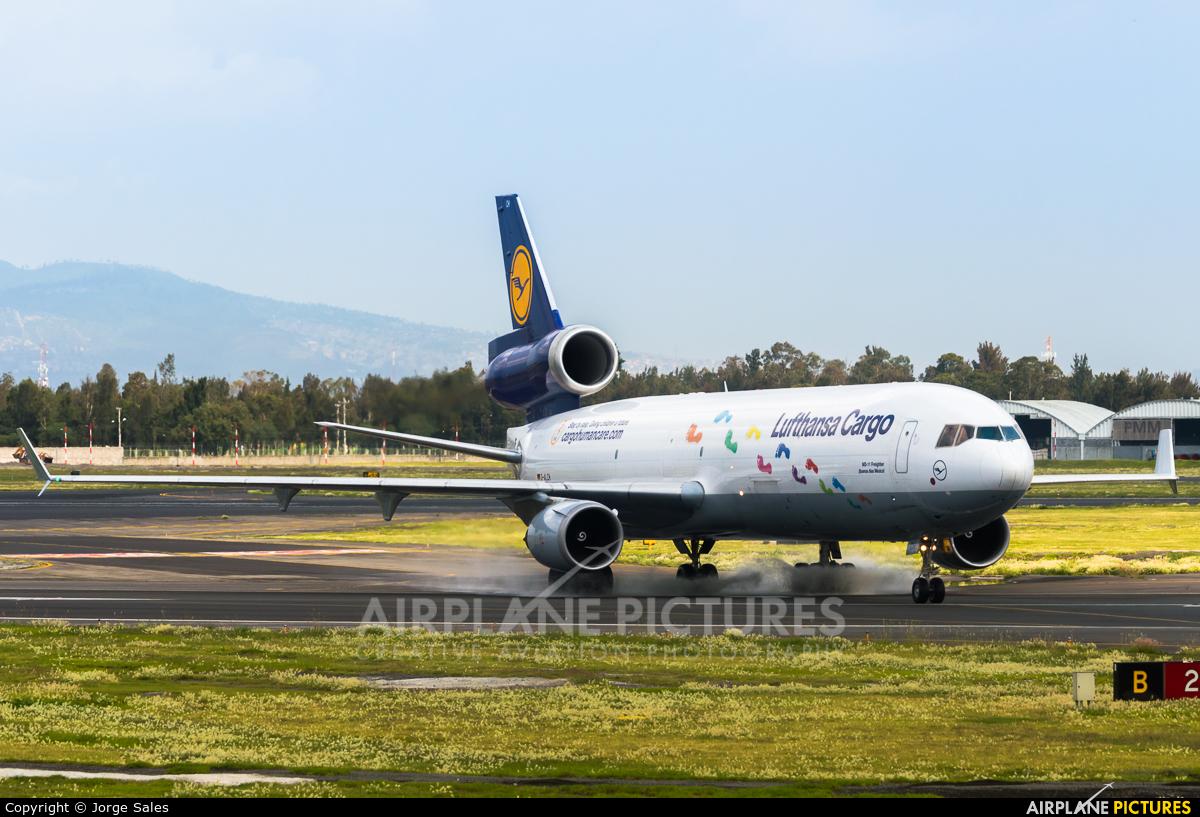 Lufthansa Cargo D-ALCH aircraft at Mexico City - Licenciado Benito Juarez Intl