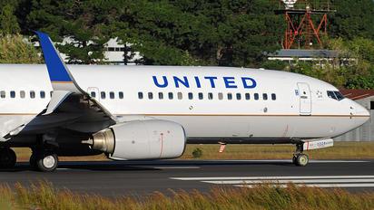 N24224 - United Airlines Boeing 737-800