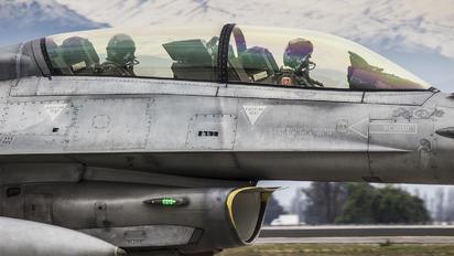 857 - Chile - Air Force Lockheed Martin F-16DJ Fighting Falcon