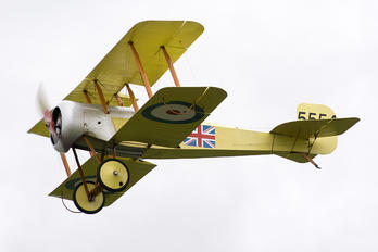 ZK-BTL - Royal Flying Corps Bristol Scout Replica