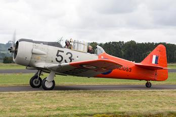 ZK-JJA - Private North American Harvard/Texan (AT-6, 16, SNJ series)