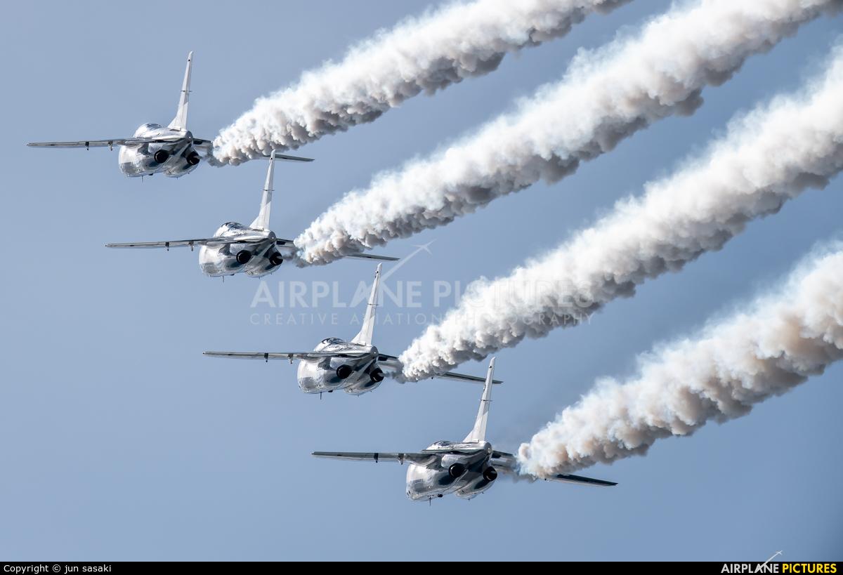 Japan - ASDF: Blue Impulse 66-5745 aircraft at Gifu AB