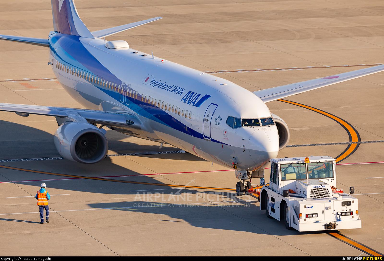 ANA - All Nippon Airways JA54AN aircraft at Chubu Centrair Intl