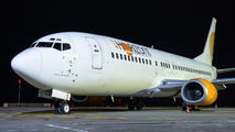 Air Horizont Boeing 737-400 visited Katowice for the first time title=