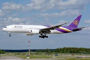 HS-TJS - Thai Airways Boeing 777-200ER