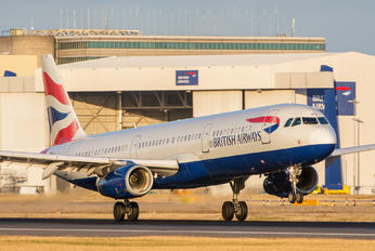 G-MEDM - British Airways Airbus A321