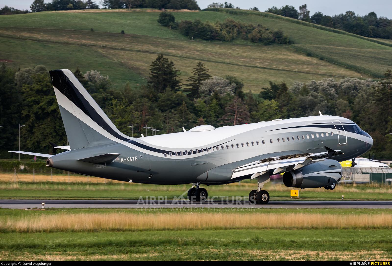 Private M-KATE aircraft at Bern - Belp