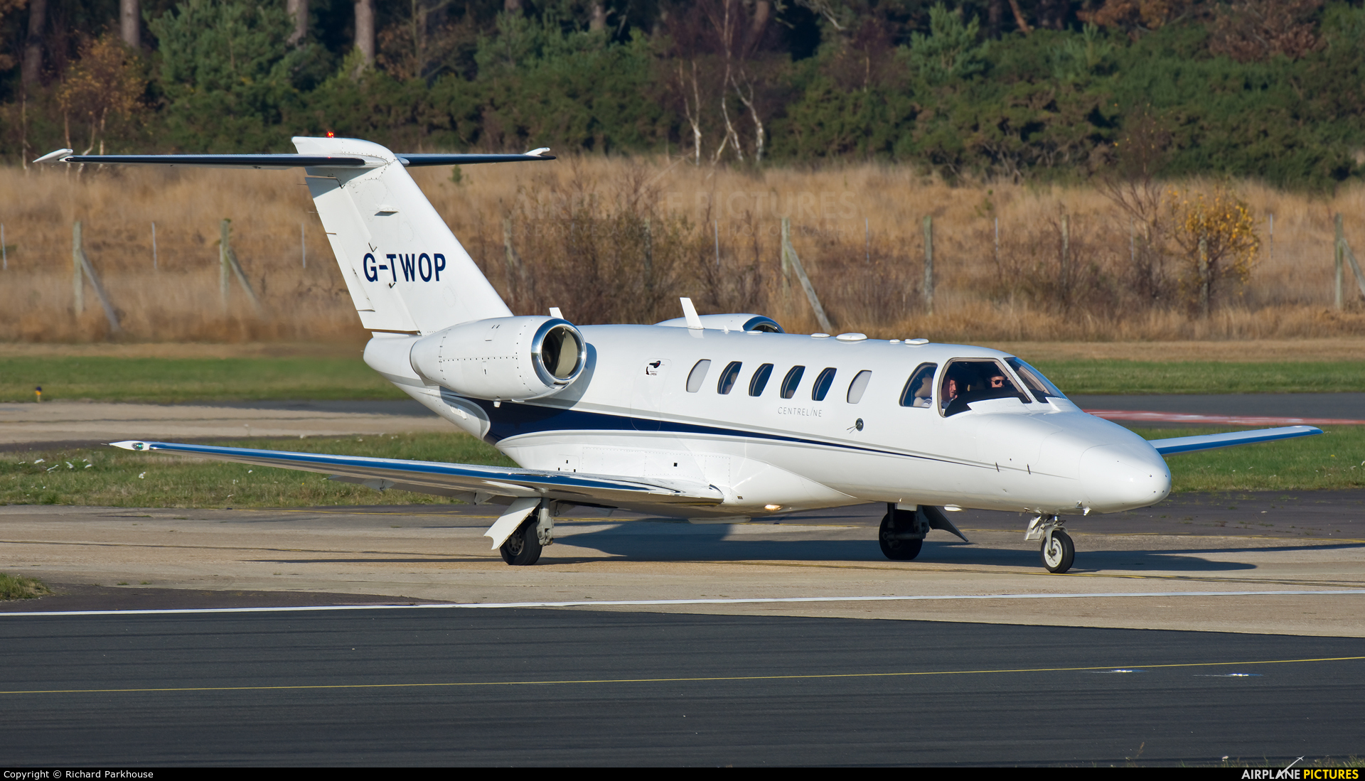 Centreline Air Charter G-TWOP aircraft at Farnborough