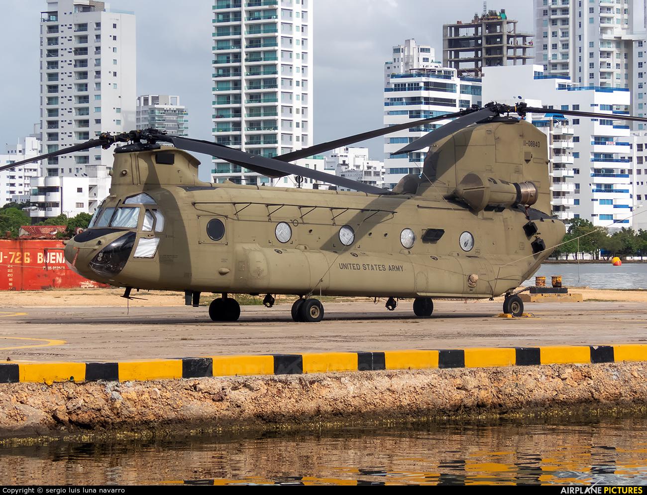 USA - Army 11-08840 aircraft at Cartagena - Rafael Núñez