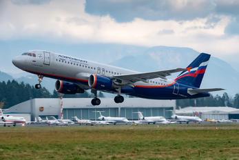 VQ-BBC - Aeroflot Airbus A320