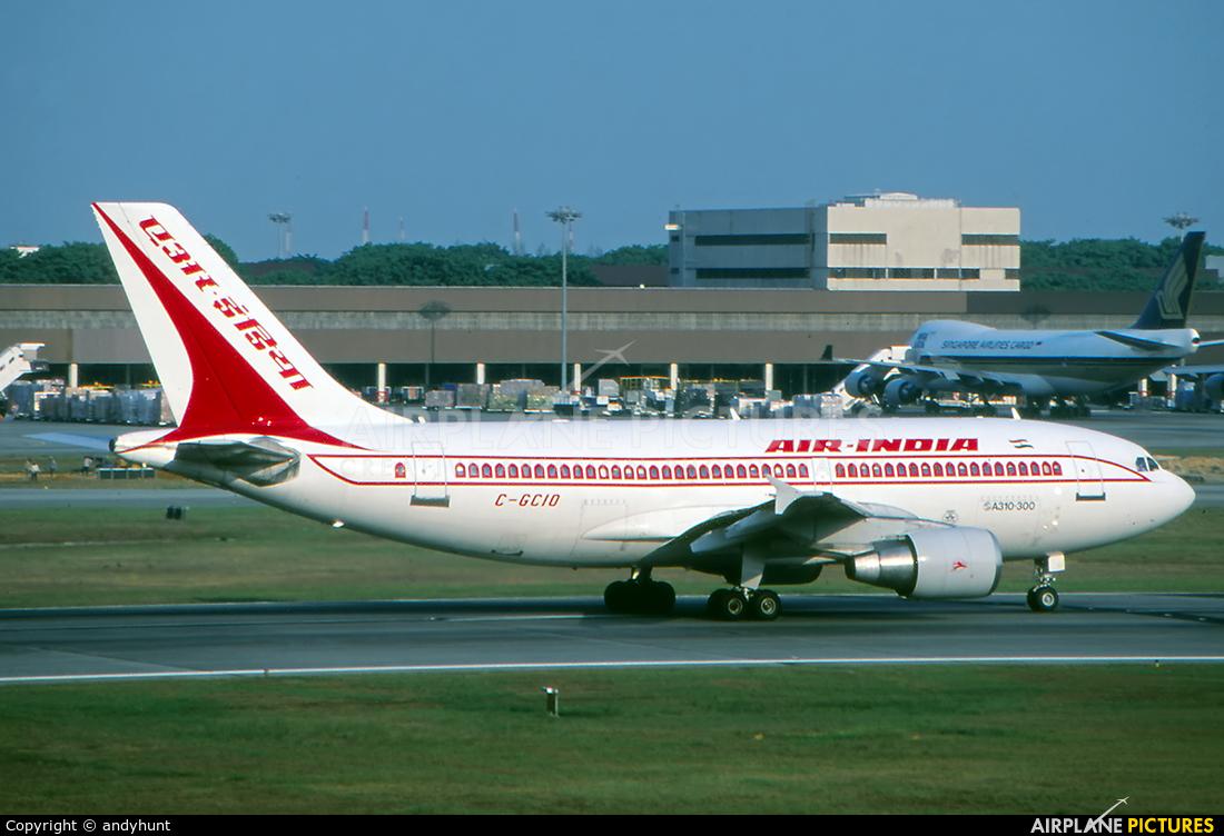 Air India C-GCIO aircraft at Singapore - Changi