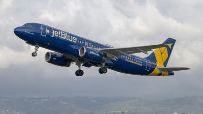 N775JB - JetBlue Airways Airbus A320