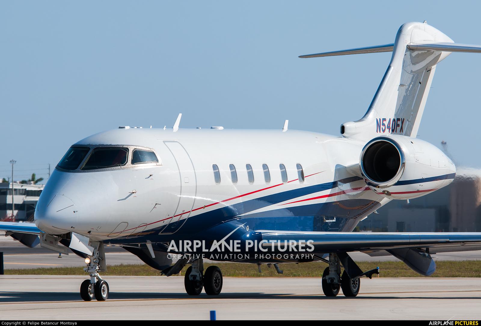 FlexJet N540FX aircraft at Fort Lauderdale - Hollywood Intl