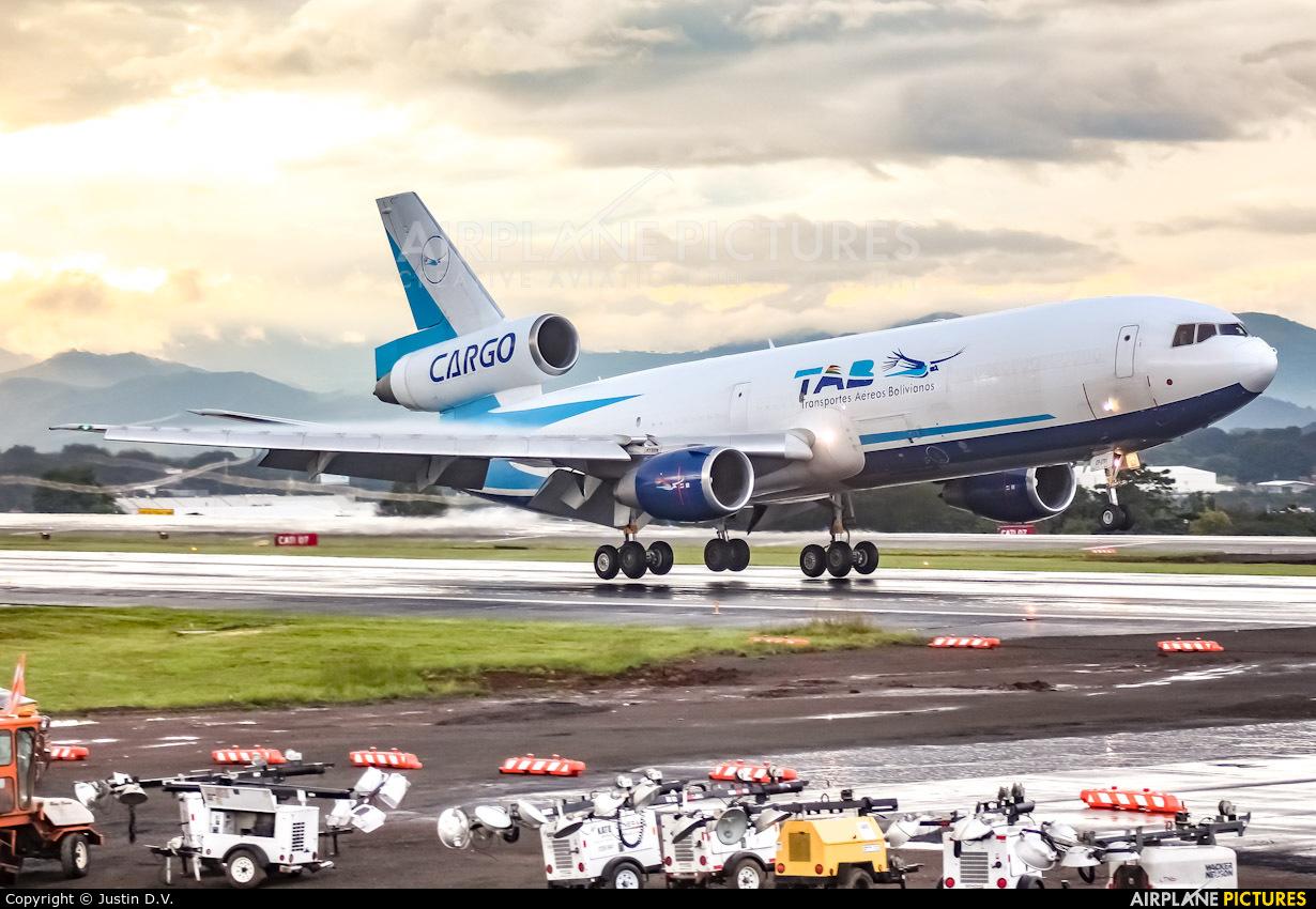 TAB Cargo CP-2791 aircraft at San Jose - Juan Santamaría Intl