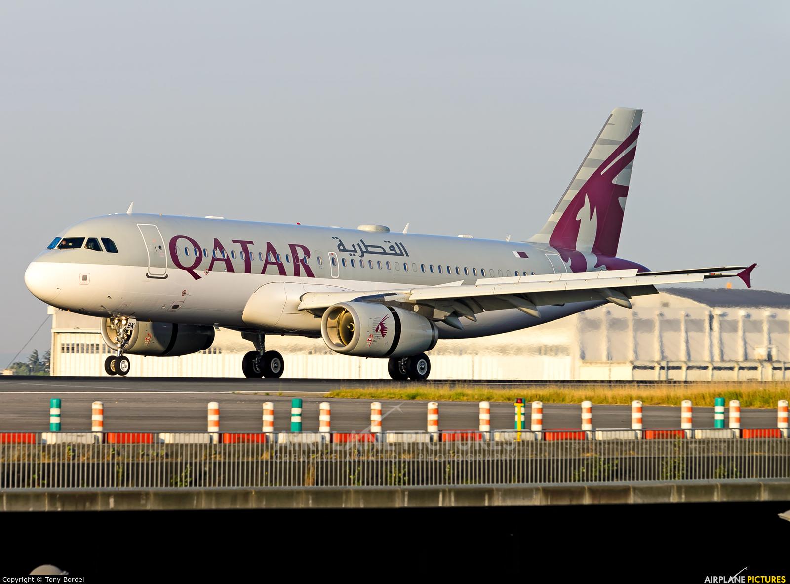 Qatar Amiri Flight A7-MBK aircraft at Paris - Charles de Gaulle