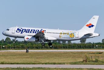 EC-KPX - Spanair Airbus A320