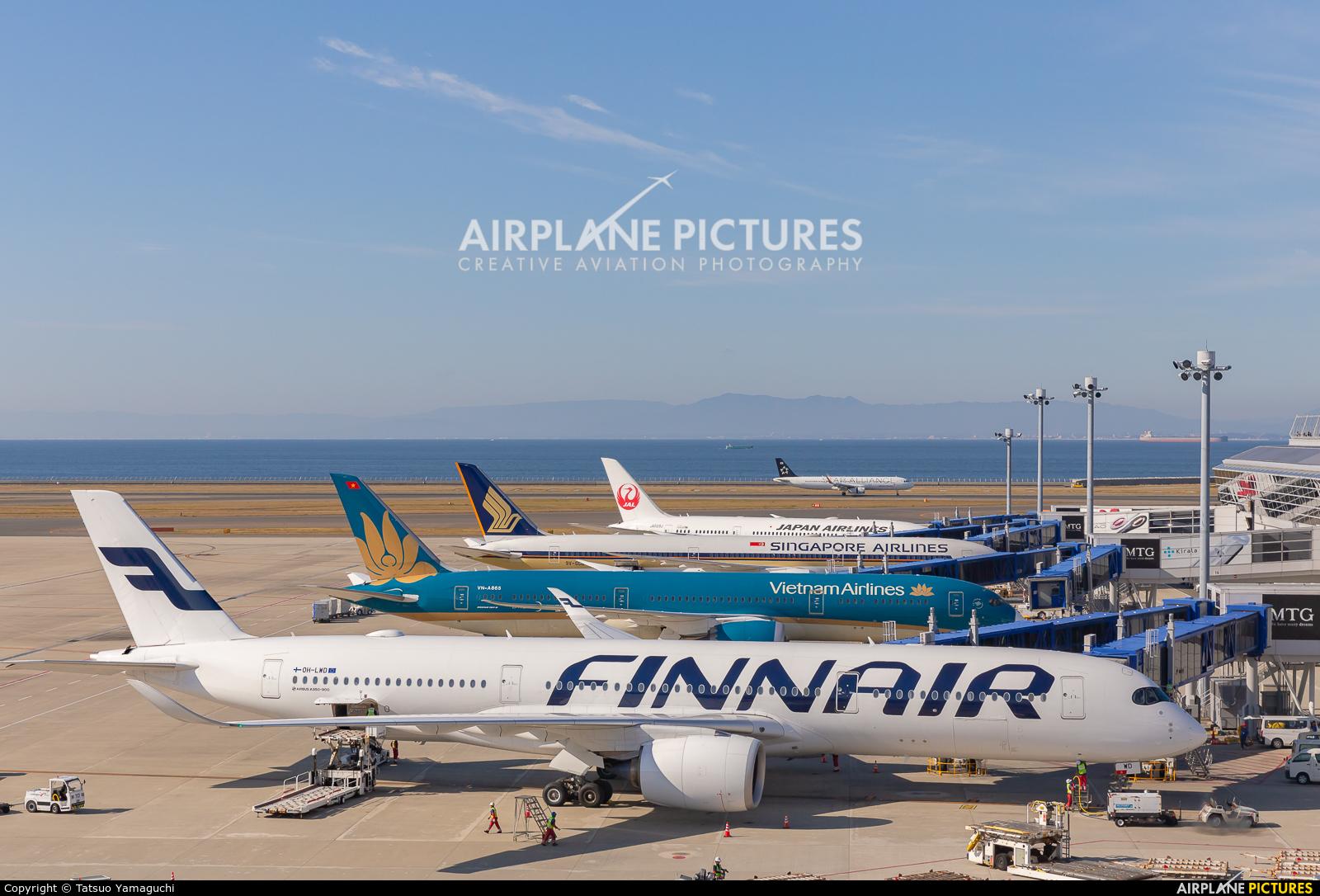 Finnair OH-LWD aircraft at Chubu Centrair Intl