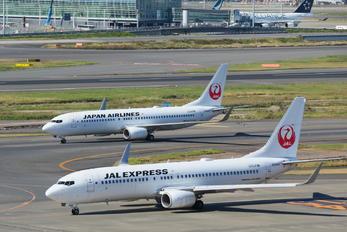 JA344J - JAL - Japan Airlines Boeing 737-800