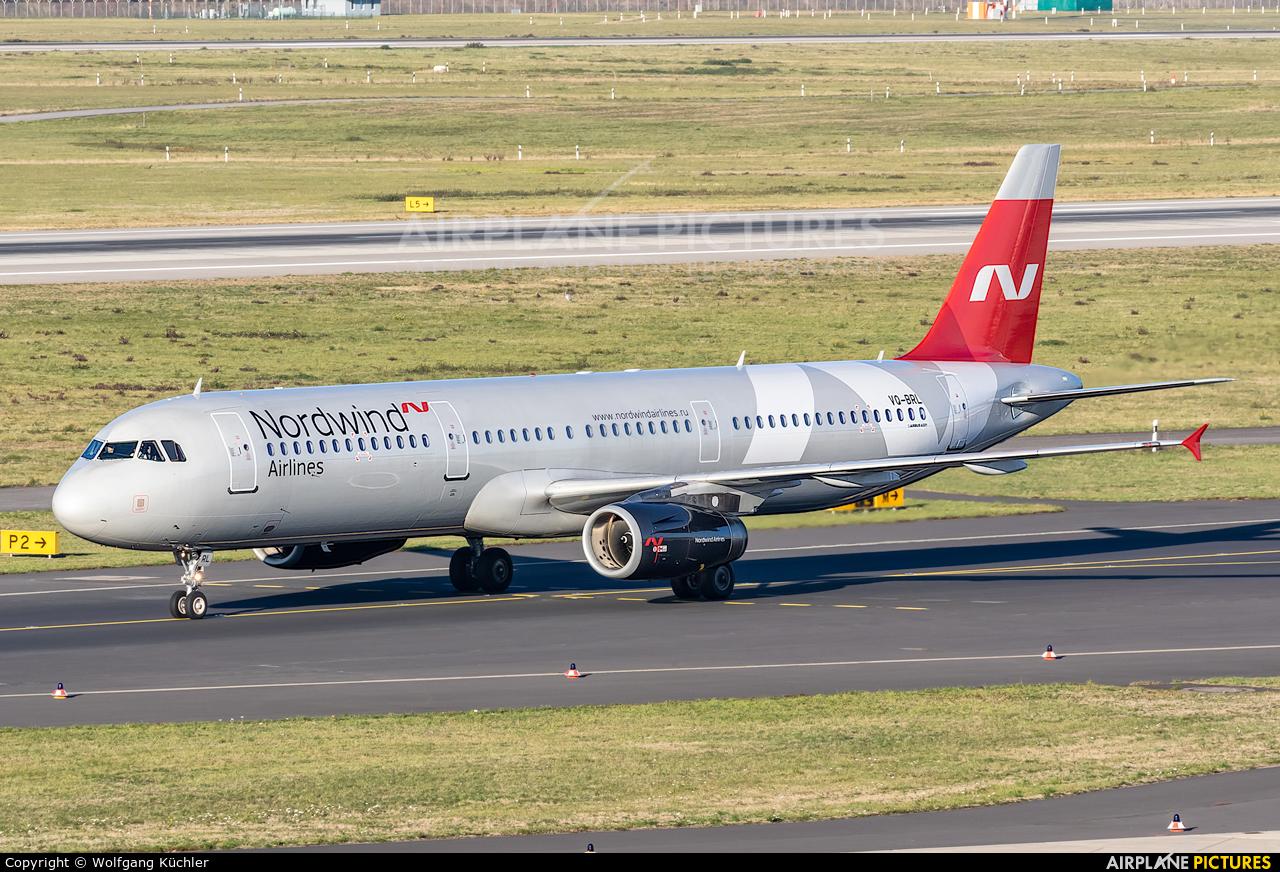 Nordwind Airlines VQ-BRL aircraft at Düsseldorf