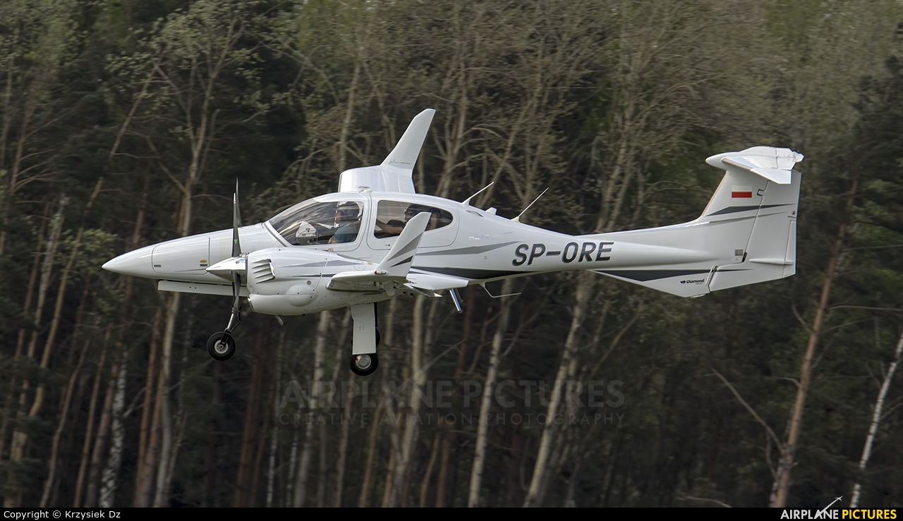 Private SP-ORE aircraft at Katowice - Pyrzowice