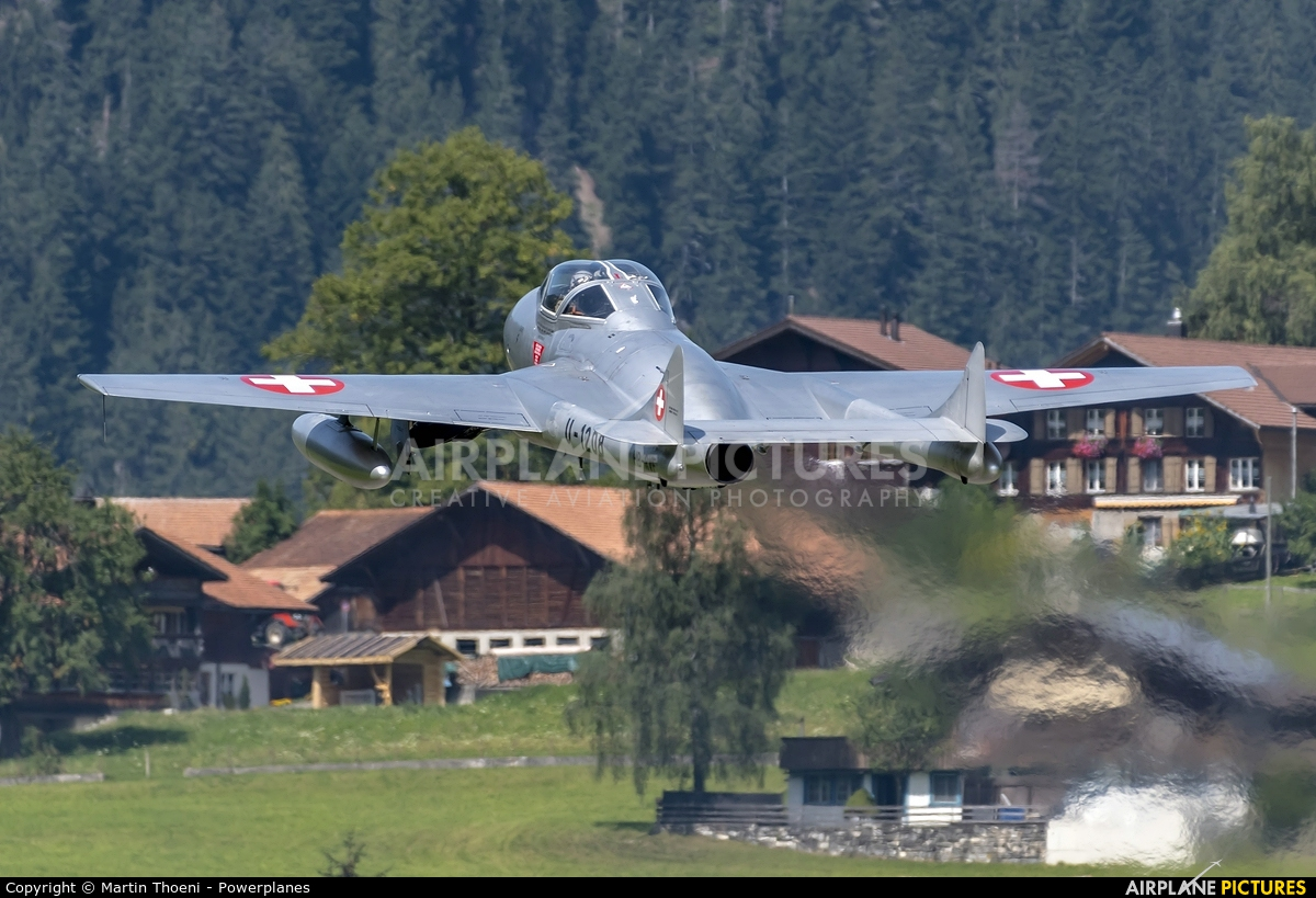 Private HB-RVF aircraft at St. Stephan