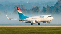 LX-LGQ - Luxair Boeing 737-700 aircraft