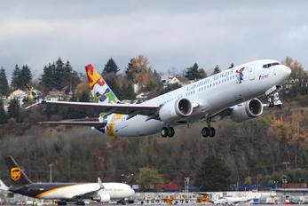 VP-CIW - Cayman Airways Boeing 737-8 MAX