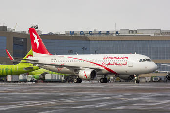 A6-ANW - Air Arabia Airbus A320