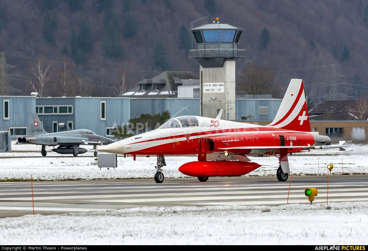 Switzerland - Air Force J-3088 aircraft at Meiringen