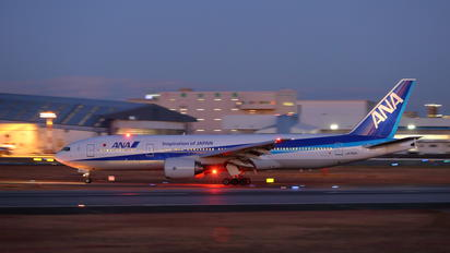 JA742A - ANA - All Nippon Airways - Airport Overview - Runway, Taxiway