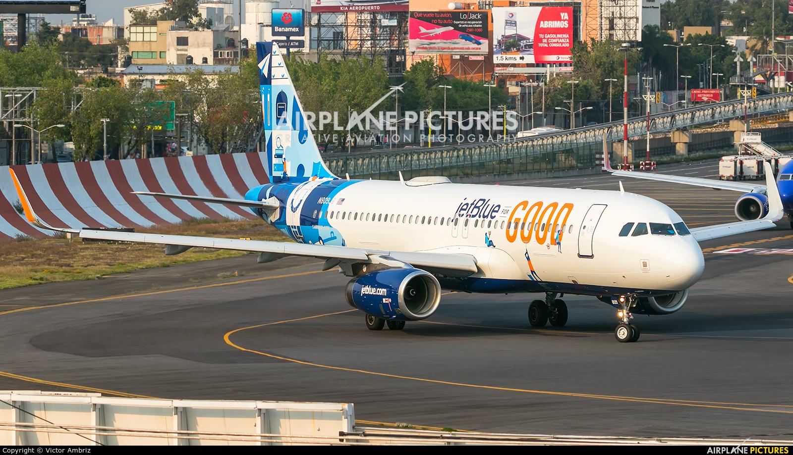 JetBlue Airways N809JB aircraft at Mexico City - Licenciado Benito Juarez Intl