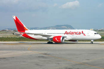 N785AV - Avianca Boeing 787-8 Dreamliner