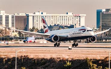 G-ZKBO - British Airways Boeing 787-9 Dreamliner