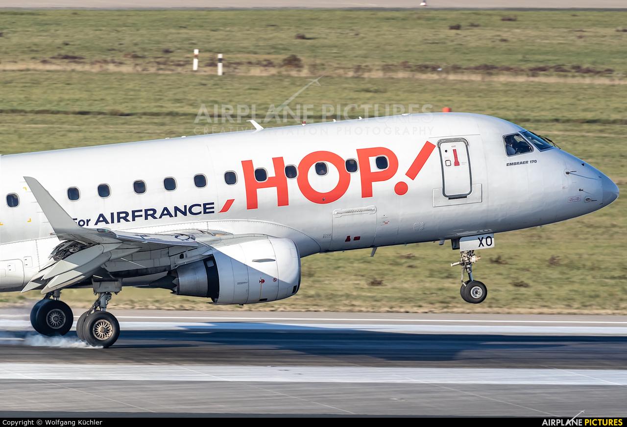 Air France - Hop! F-HBXO aircraft at Düsseldorf