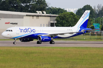 VT-IKA - IndiGo Airbus A320