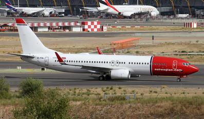 EI-FHL - Norwegian Air International Boeing 737-800