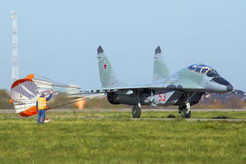 "53 - Russia - Air Force ""Strizhi"" Mikoyan-Gurevich MiG-29UB"