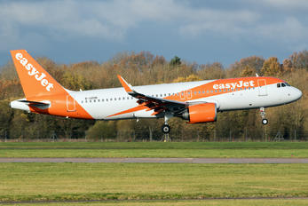 G-UZHR - easyJet Airbus A320 NEO