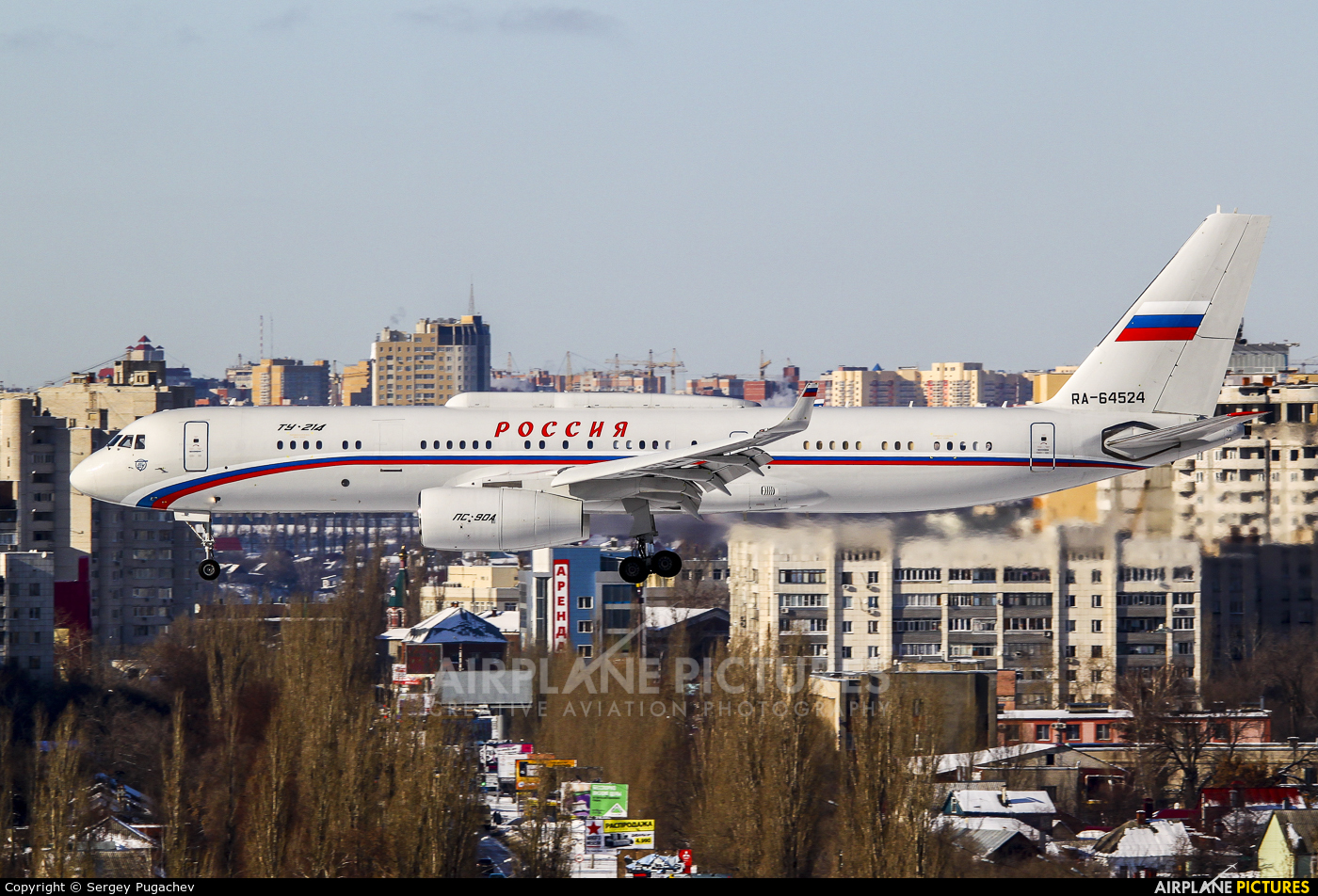 Russia - Government RA-64524 aircraft at Undisclosed Location