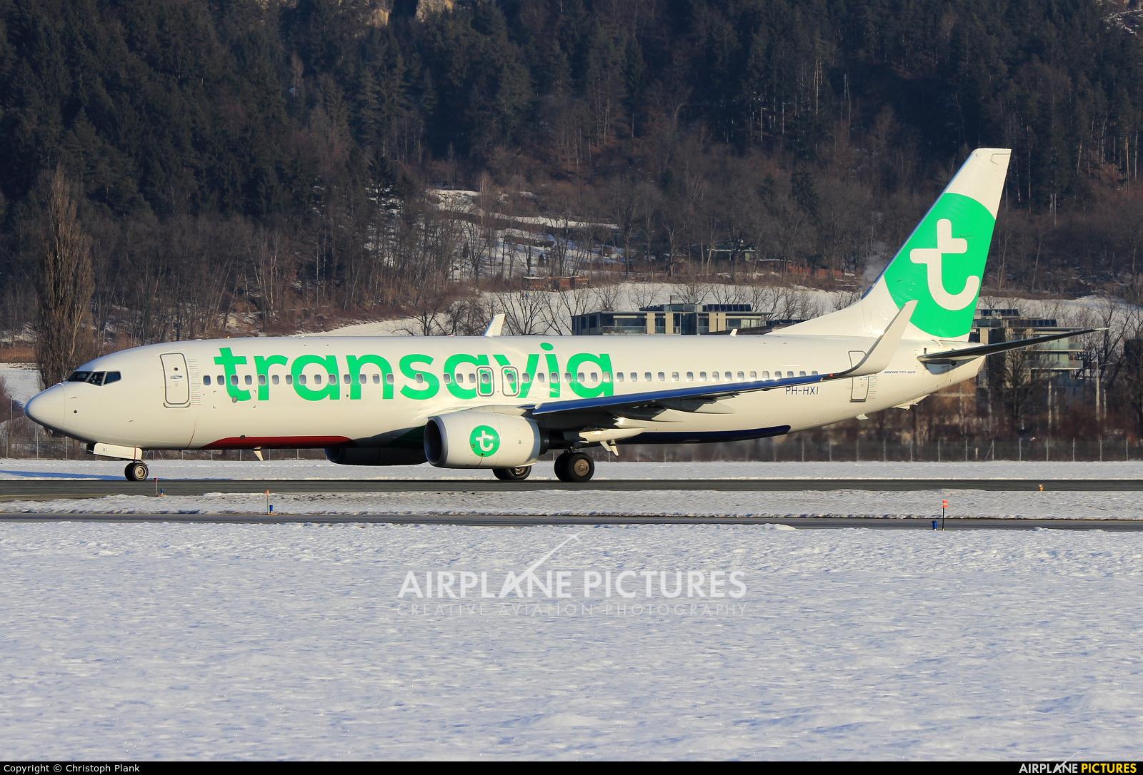 Transavia PH-HXI aircraft at Innsbruck