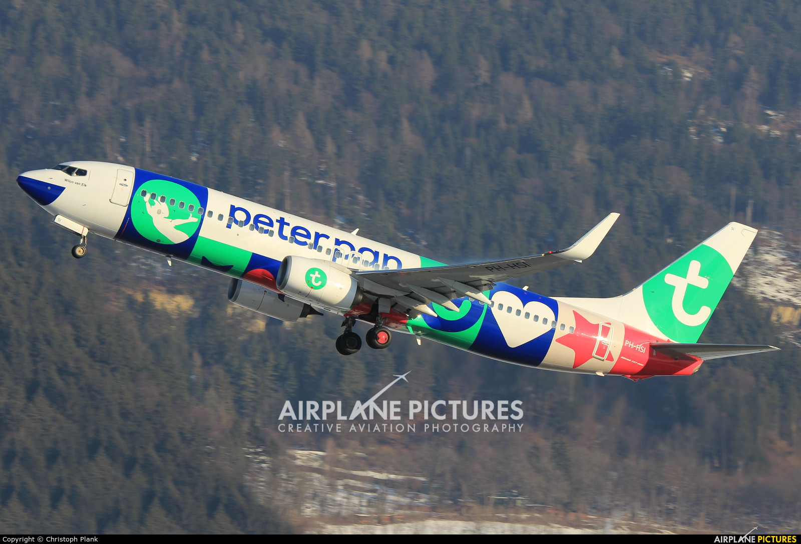 Transavia PH-HSI aircraft at Innsbruck