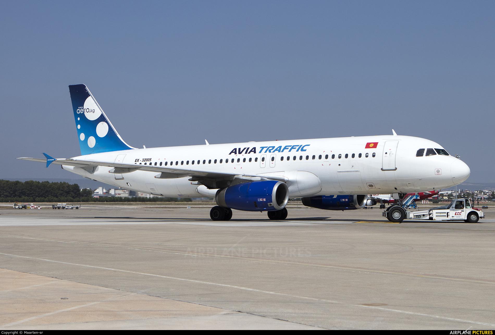 Avia Traffic Company EX-32005 aircraft at Antalya