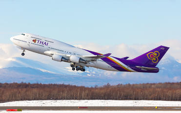 HS-TGB - Thai Airways Boeing 747-400