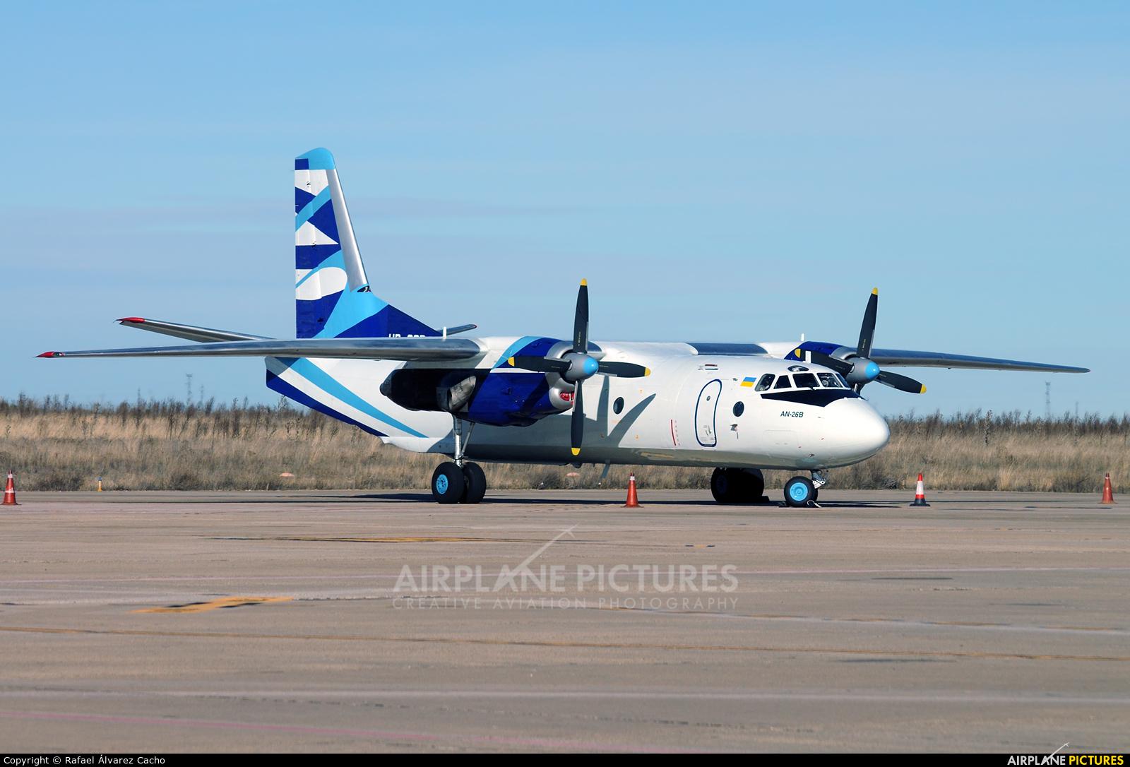 Vulkan Air UR-CQD aircraft at Valladolid - Villanubla