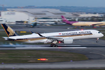 F-WZFC - Singapore Airlines Airbus A350-900