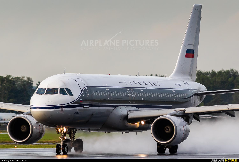 Aeroflot VP-BNT aircraft at Koltsovo - Ekaterinburg