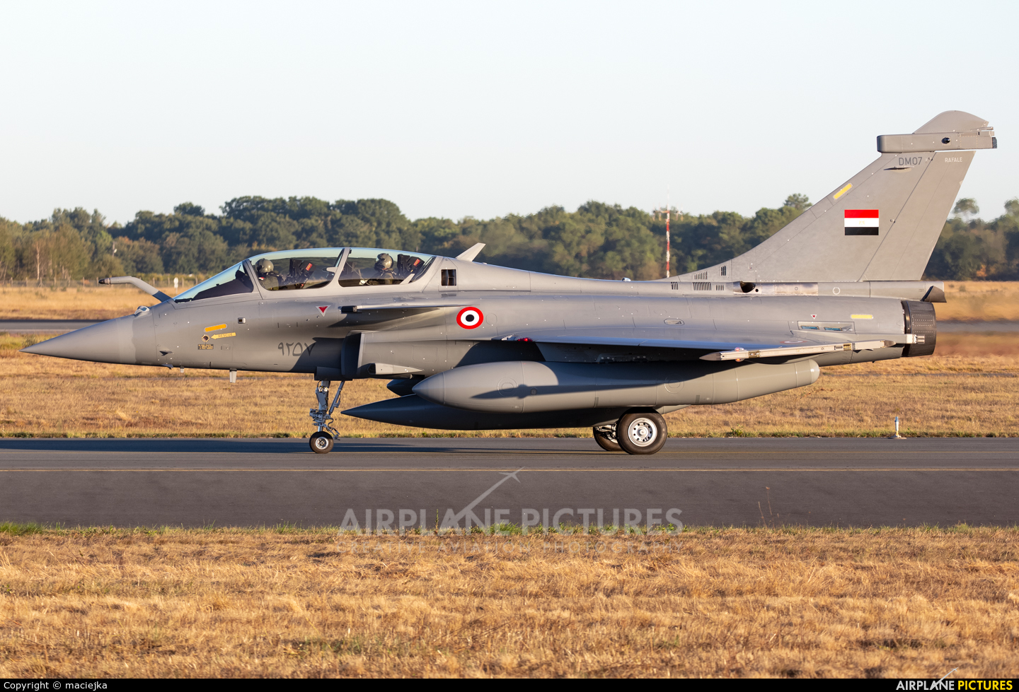 Egypt - Air Force - aircraft at Bordeaux - Merignac